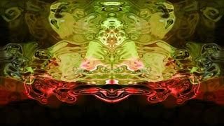 Rorschach 009: Abstract Rorschach imagery forms and flows (Loop).