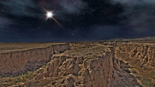 The Heavens 0310: A big star shines over the San Andreas Fault (Loop).