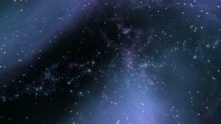 The Heavens 0512: Flying through star fields in space (Loop).
