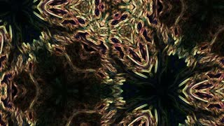 Video Background 1064: Abstract forms ripple and flow (Loop).