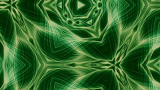 Video Background 1068: Abstract green forms pulse, ripple and flow (Loop).