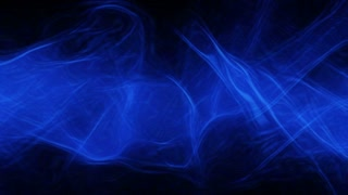 Video Background 1203: Abstract blue light patterns pulse, ripple and flow (Loop).