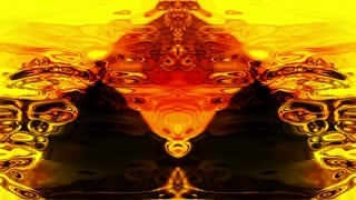 Video Background 1259: Abstract Rorschach imagery forms and flows (Loop).