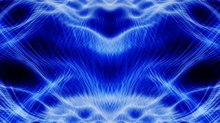 Video Background 1264: Abstract Rorschach imagery forms and flows (Loop).