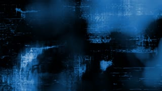 Abstract blue grunge forms video background (Loop).