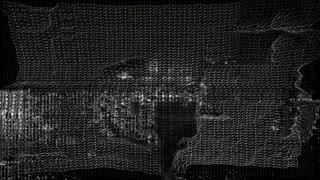 Future Tech 0149: Futuristic technology video wireframe fluctuation (Loop).