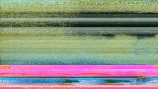 Glitch 1040: Digital noise video damage (Loop).