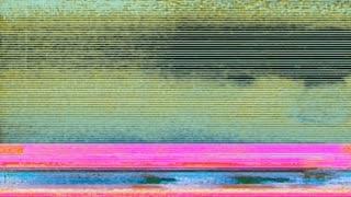 Glitch 1040: Digital noise video damage (Loop).