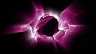 Light FX2005: Fractal waves of undulating pink light (Loop).