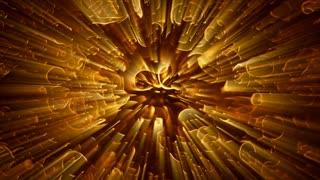 Light FX2028: Liquid light patterns flow, ripple and shine (Loop).
