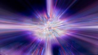 Light FX2189: Shafts of fractal light shimmer and shine (Loop).