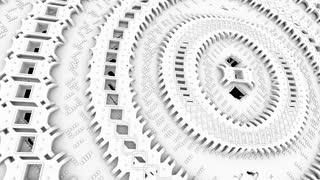 Nano 1001: Futuristic nanotechnology molecular machine (Loop).