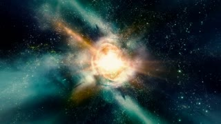 Space 2239: Traveling through star fields and galaxies in space (Loop).