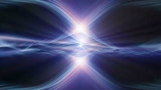 Video Background 2090: Abstract organic light forms ripple and shine (Loop).