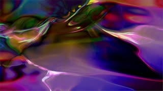 Video Background 2243: Abstract fluid light patterns glow, ripple and shine (Loop).