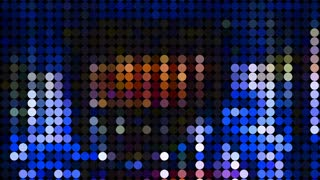 Video Background 2248: Light emitting diodes flicker with motion (Loop).