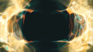 Video Background 2255: Abstract liquid light forms ripple and shine (Loop).