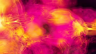 Video Background 2268: Abstract fluid forms pulse, ripple and flow (Loop).