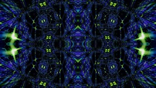 Video Background 2370: Fractal technology abstraction (Loop).