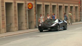 Ferrari on street
