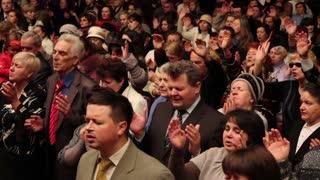 Religious prayer rally