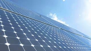 Solar battery timelapse