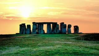 Stonehenge evening timelapse 1