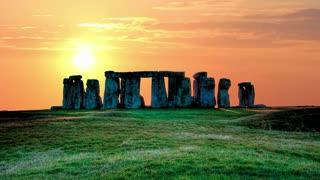 Stonehenge evening timelapse 4K 1