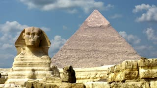 Timelapse Of The Great Pyramids In Giza Valley, Cairo, Egypt 4k 3
