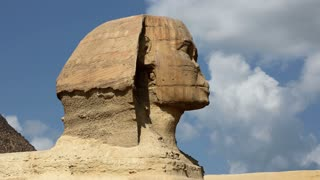 Timelapse Of The Sphinx In Giza Valley, Cairo, Egypt 2