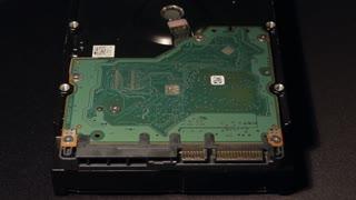Printed Circuit Board Close-up, Repair HDD