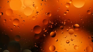 Bubbles On Colored Background