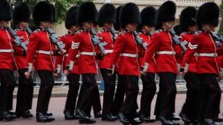 British queen soldiers