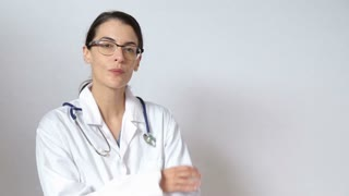 Medical staff commercial style clip
