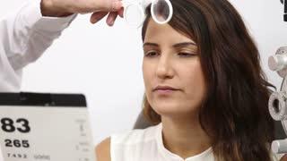 Optometry Flipper Test