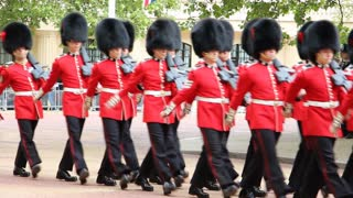 Queen's Birthday rehearsal Parade