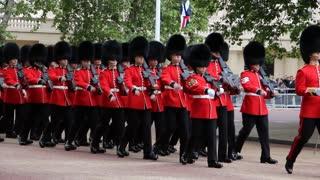 Queen's Birthday rehearsal Parade
