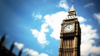 Shot of London timelapse