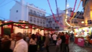 Street food festival in Alfama lisbon