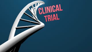 clinical trial concept animation
