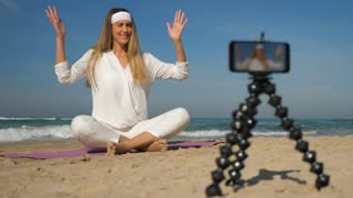 Yoga Instructor Record Video Training Tutorial