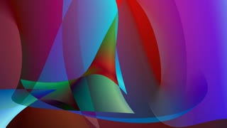 Abstract colorful shapes background. Shapes with different forms bend, swirl and mix together.