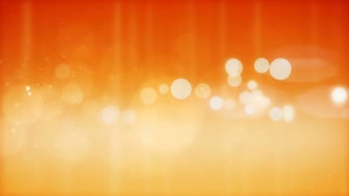 Abstract orange particles background.