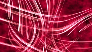 Abstract red glowing curved lines background.