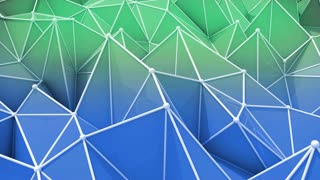 abstract seamless triangular background animation