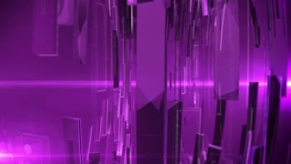 Abstract Technology Background with lens flare. Purple color.