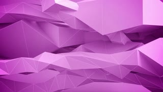 Adstract geometric shapes in motion. Pink.