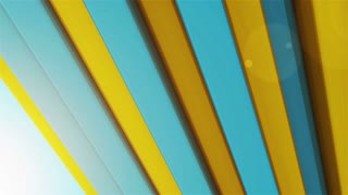 Animation of colorful striped background.