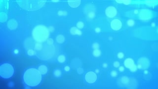 Blue Flickering Particles Loop background.