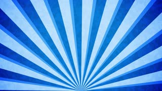 Blue Sun burst retro background design.